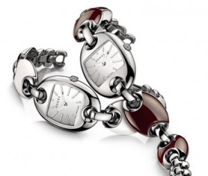 Images of two watches in the Marina Chain collection