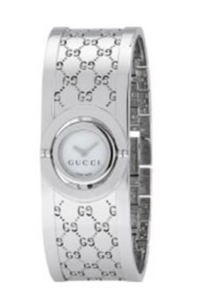 Gucci Ladies Twirl Bangle Style Watch YA 112510