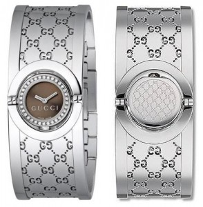 Gucci Twirl Ladies Watch, as seen with revolving dial