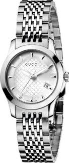 Gucci Timeless Women's Stainless Steel Patterned Watch YA126501