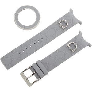 Gucci U-Play Medium Gray Watch Band YFA50013