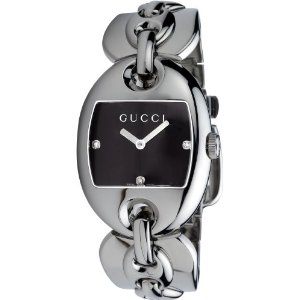 Gucci Women's YA121303 121 Marina Chain Diamond Watch