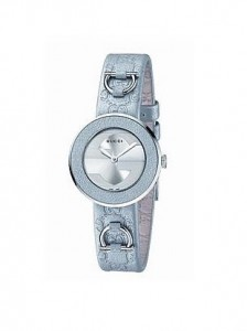 Gucci U-Play Collection Silver Shimmer Watch