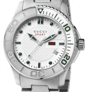 Image of the face of the Gucci G-Timeless YA126232