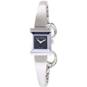 Gucci G-Frame YA128512 Silver Women's Watch
