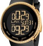 Image of I-Gucci YA114217 Digital GRAMMY Special Edition Black Watch