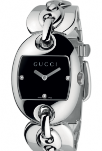 Gucci Marina Chain Diamond YA121303 Women's Watch