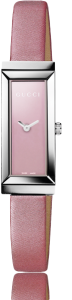 An image of Gucci G-Frame YA127502 Pink Dial Watch