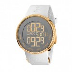 Image of the I-Gucci YA114217 Digital GRAMMY Special Edition Watch in white