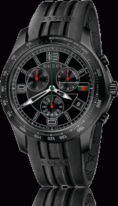 Gucci G-Timeless Chronograph Men's Watch Black