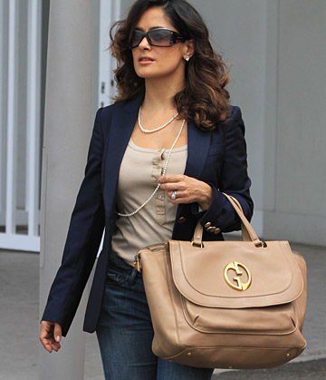 Salma Hayek Pinault for Gucci